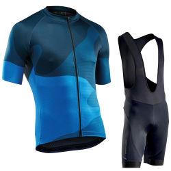 Custom Men Sport Bike Clothing Cycling Jersey Suit Bicycle Shirts Bib Shorts MTB Bike Cycling Set