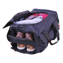 Custom Athletic Duffel Bag Travel Sports Bag with Shoes Compartment