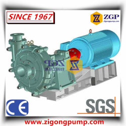 Horizontal Heavy Duty Solid Handling Ah Industrial Centrifugal Slurry Pump