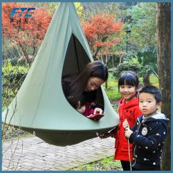 Children Hanging Chair Seat Cotton Nest with Inflatable Cushion