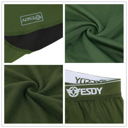 4-Colors Esdy Tactical Outdoor Sports Warm Thermal Underwear Set