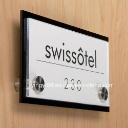 Top Selling Acrylic Name Plate with SGS Certificates