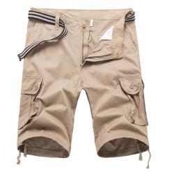 Customize Great Quality 100%Cotton Men Cargo Short