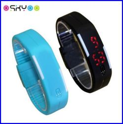 Silicone LED Digital Sports Watch