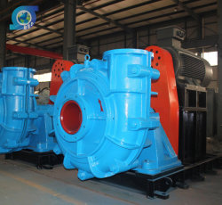 Zinc Plant High Head Pressure Sewage Water Handling Horizontal Slurry Pump