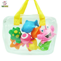 6002582d042397 Hot Sell Colourful Soft Baby Bath Toys Promotion Gift, Wholesale Rubber Toy  for Baby Kids