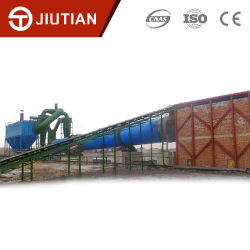 Good Quality Large Handling Three Return Slime Rotary Dryer Dryers