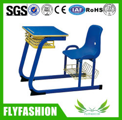 High Quality School Furniture Combo Desk Chair Classroom Furniture (SF 97S)