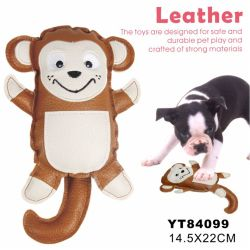 Durable Chew Leather Wholesale Toy (YT84096)