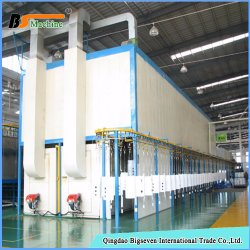 Electrophoretic Paint Powder Coating Spraying Production Line Machine Equipment