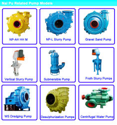 Concrete Cement Spirals Slurry Pump