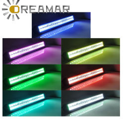 China rgb led light bar rgb led light bar manufacturers suppliers led rgb light bar with remote 4d lens available aloadofball Images