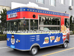 Mobile Food Bus for Selling Fast Food/Ice Cream/Hot Dog in China
