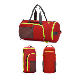 3 in 1 Waterproof Nylon Gym Bags with Cooler Compartment