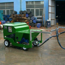 Automatic Rubber Sprayer Machine for Athletic Running Track Sport Surface