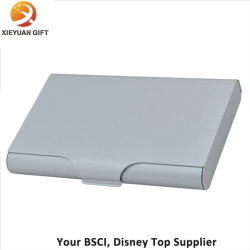 China business card case set business card case set manufacturers simple style silver business card holder card case opened colourmoves Gallery