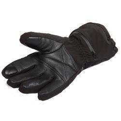 2017 winter 7.4V2200mAh electric heated gloves waterproof windproof