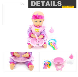 Wholesale Vinyl Material Baby Reborn Realistic Doll with Different Sound
