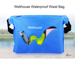 Waterproof Swimming Waist Bags Dry Sack for Phone Money Clothing Storage Blue Orange Green Colors Outdoor Bag for Water Sport