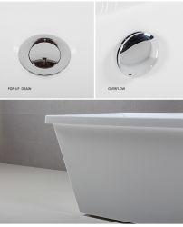 Floor Standing Portable Bathtub Wholesale Freestanding Jacuzzi Bathtub