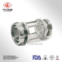 304 316L High Quality Sanitary Stainless Steel Liquid Level Tank Sight Glass Cross Sight Glass Bls Glass Columns Sight