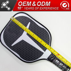 Customized Honeycomb Graphite Carbon Fiber Pickleball Paddle Sport Goods