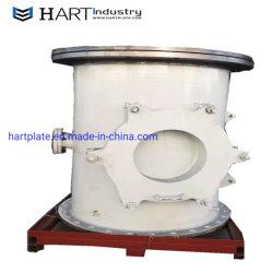 Hart Chromium Carbide Overlay Slurry Pump Wear Pipes Fittings