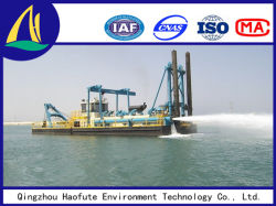 10inch Cutter Suction Dredger for Digging Sand and Gold for Sale