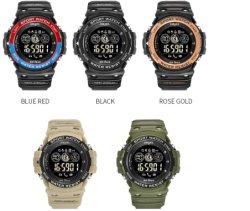 Digital Bluetooth Vibrating Alarm Camera Waterproof Sport Smart Watch
