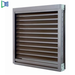 Good Ventilation Performance Professional Glass Louvre Window with Standard Accessory