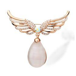 eb6824d8576 Yiwu Hot-Selling Alloy Jewelry Opal Diamond Costume Jewelry Brooch