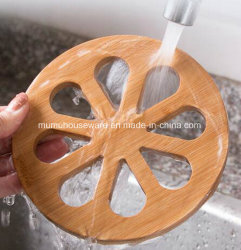 Bamboo Round/Square Shaped Coaster with Various Design