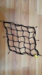 Elastic Motorcycle Luggage Net with Plastic Hooks