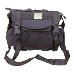 Mens Travel Army Combat Canvas Messenger Us Shoulder Satchel Sports Bag Black