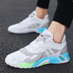Factory Hot Sale Men's Fashion Sneakers 2020 Summer Popular Casual Sports Shoes Men Running Shoes Wholesale Shoe Fal-9909