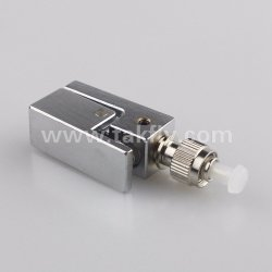 High Quality FC Square Bare Fiber Optic Adapter/Adaptor