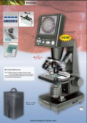 "Professional Video Digital LCD Screen Zoom Microscope 8.9cm (3.5"")"