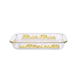 Oven Safe Tempered Borocilicate Gl Baking Food Container Microwave Plates Bakeware