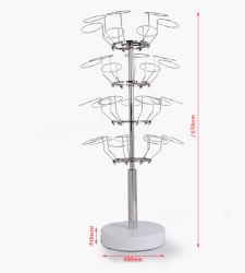 Stainless Steel Metal Clothes / Garment Hanger / Belt Display Stand / Rack