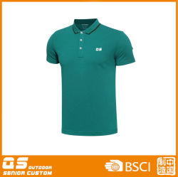 Men's Summer Cheap Customized Sport Fashion Quick Dry T-Shirt Polo Shirt