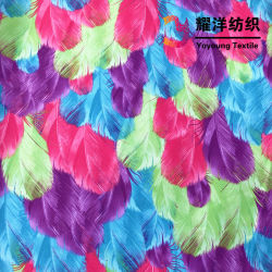 Digital Printed Polyester Taslon Fabric with PU Coating for Bags & Sports Wear