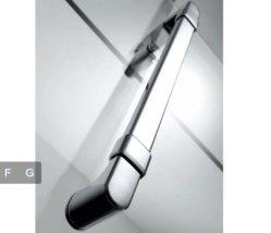 China Custom Sliding Hotel Luxury Glass Rectangular Shower Bathroom