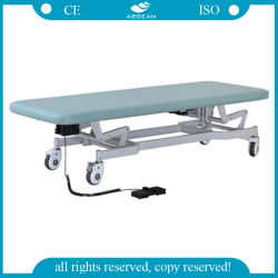AG-Ecc03 Ce&ISO Approved Examination Hospital Couch with Four Wheels