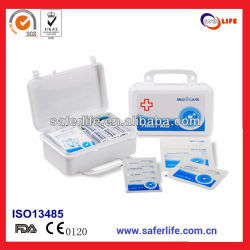 2019 Emergency Convenient to Carry Travel Sports Family Outdoor Activities FDA/Ce First Aid Kit Box