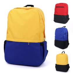 Outdoor Unisex Leisure Waterproof Oxford Fabric Fashion Durable Travel Camping Hiking Shopping Grocery Beach Swimming Sports Gym Work Office Student School Bag