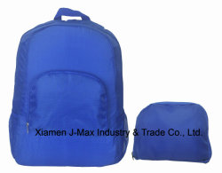 Custom Fashion Polyester Sports Laptop Foldable Backpack School Bag Nylon Polyester with Wholesale Bag