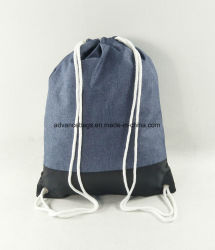 Promotional Custom Drawstring Sport Shopping Sack Pack Bag
