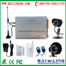 Intelligent GSM/CDMA Security Alarm System with Camera Sending SMS, MMS, E-Mail Calls Automatically