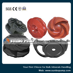 Mining Components Slurry Pump Wet Parts Metal Impeller