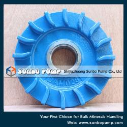 Horizontal Centrifugal Slurry Pump Spare Parts Expeller